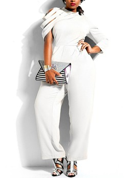 Plus Size One Piece Jumpsuit